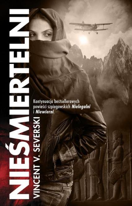 Nieśmiertelni - Vincent V. Severski | okładka