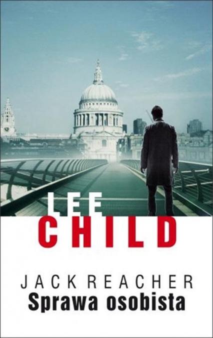Sprawa osobista - Lee Child | okładka