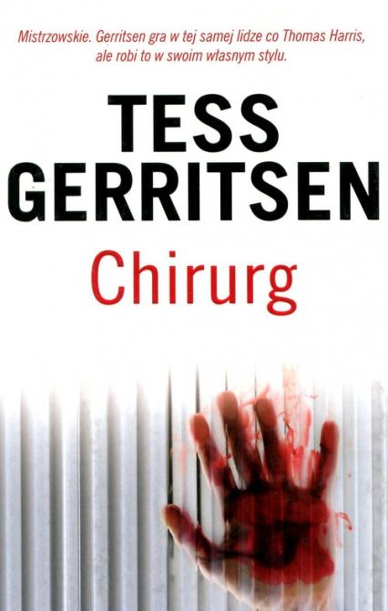 Chirurg - Tess Gerritsen | okładka