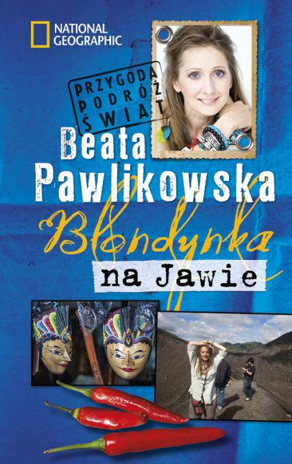 Blondynka na Jawie - Beata Pawlikowska | okładka