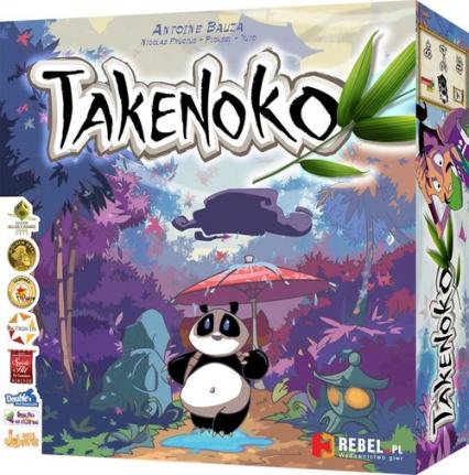 Takenoko - Antoine Bauza   | okładka