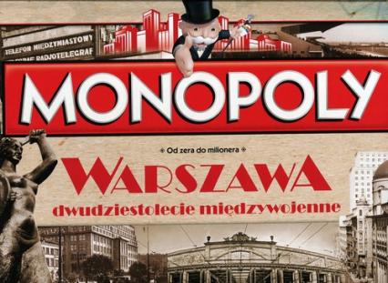 Monopoly. Warszawa. Dwudziestolecie międzywojenne Od zera do milionera -  | okładka