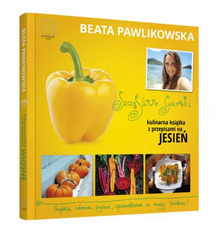 Szczęśliwe garnki. Kulinarne przepisy na jesień - Beata Pawlikowska | okładka