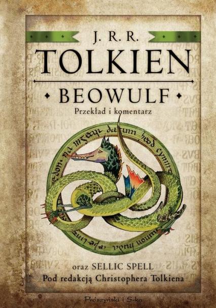 Beowulf - J.J.R. Tolkien  | okładka