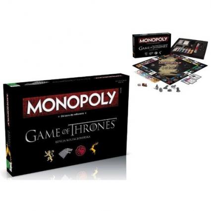 Monopoly. Gra o tron. Wersja kolekcjonerska -  | okładka
