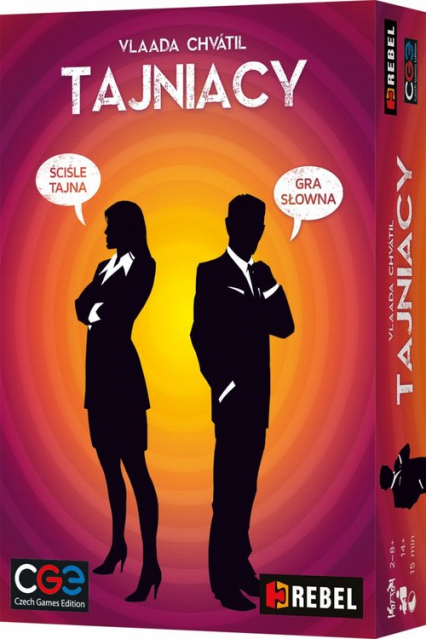 Tajniacy - Chvátil Vlaada  | okładka