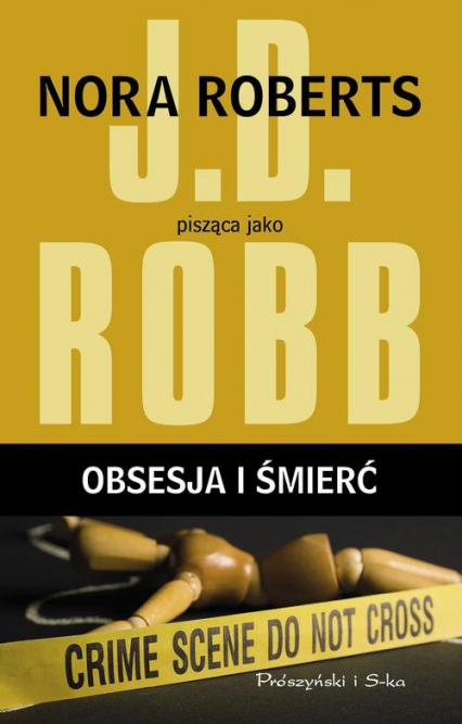 Obsesja i śmierć - J.D Robb | okładka