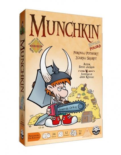 Munchkin. Edycja podstawowa - 165 kart -  | okładka