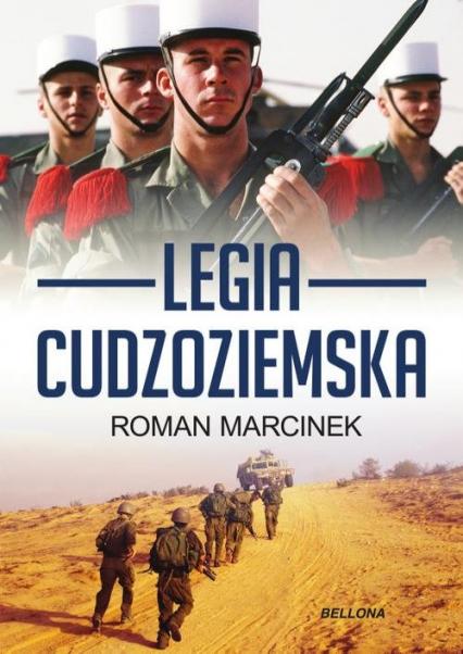 Legia cudzoziemska - Roman Marcinek | okładka