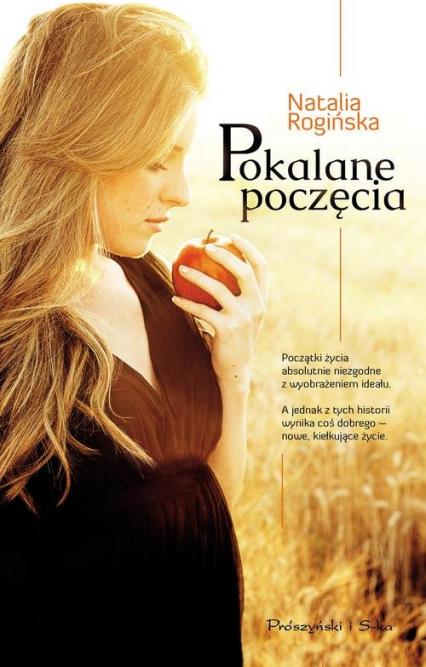 Pokalane poczęcie - Natalia Rogińska   okładka