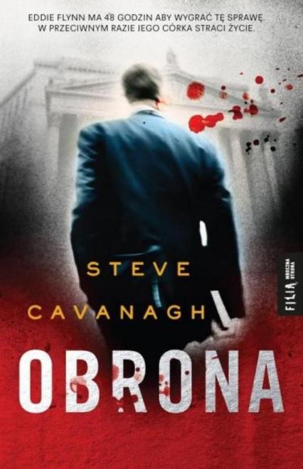 Obrona - Steve Cavanagh | okładka