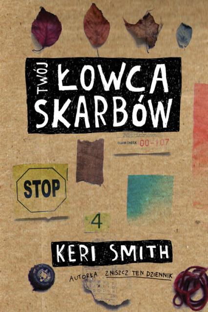 Łowca Skarbów - Keri Smith | okładka
