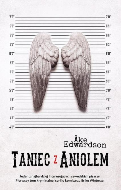 Taniec z aniołem - Ake Edwardson   okładka