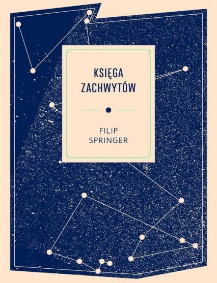 Księga zachwytów - Filip Springer | okładka
