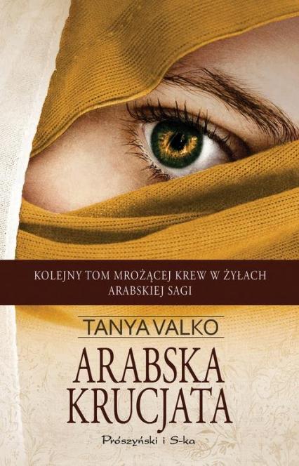 Arabska krucjata - Tanya Valko | okładka