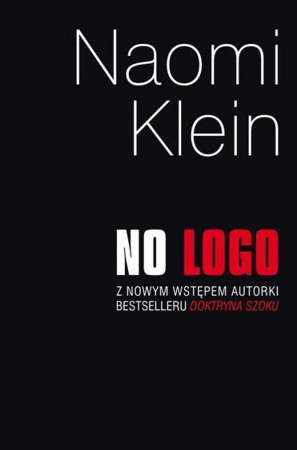 No logo - Naomi Klein | okładka
