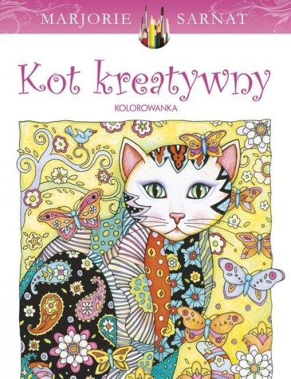 Kot kreatywny - Marjorie Sarnat | okładka