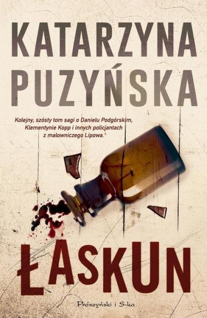 Łaskun - Katarzyna Puzyńska | okładka