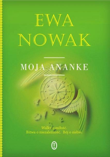 Moja Ananke - Ewa Nowak | okładka