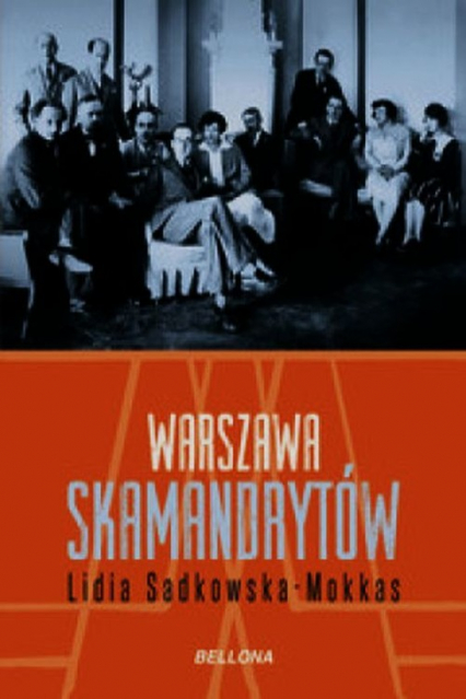 Warszawa skamandrytów - Lidia Sadkowska-Mokkas | okładka