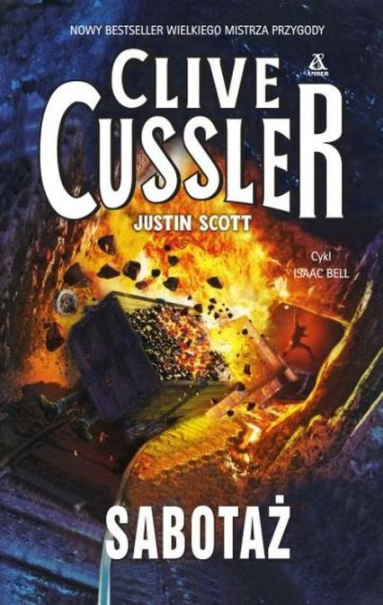 Sabotaż - Clive Cussler, Justin Scott | okładka
