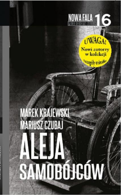 Aleja Samobójców - Marek Krajewski, Mariusz Czubaj   okładka