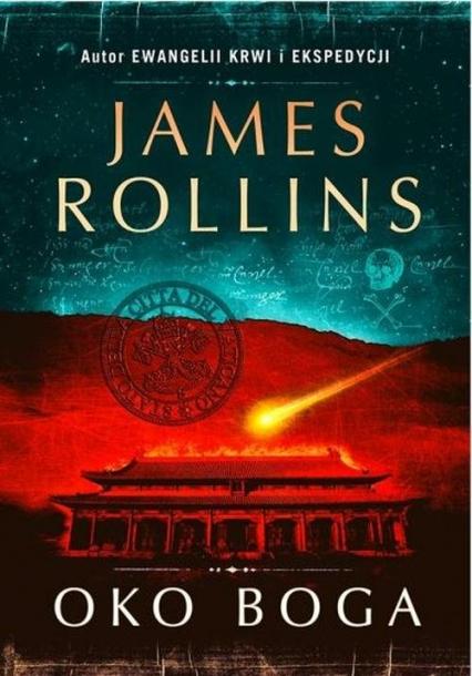 Oko Boga - James Rollins | okładka