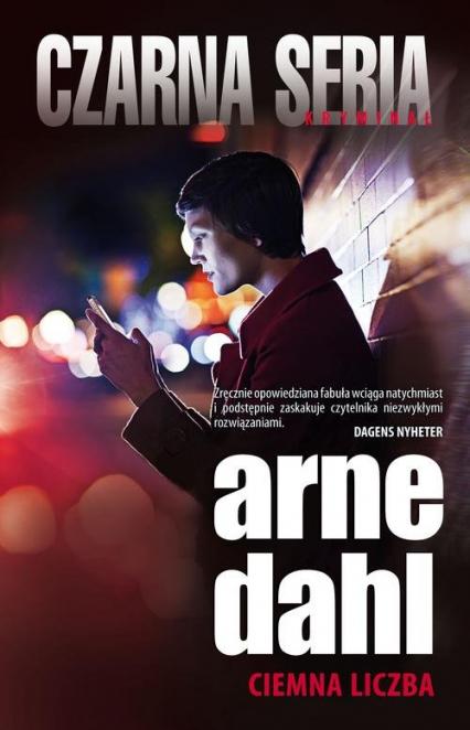 Ciemna liczba - Arne Dahl | okładka