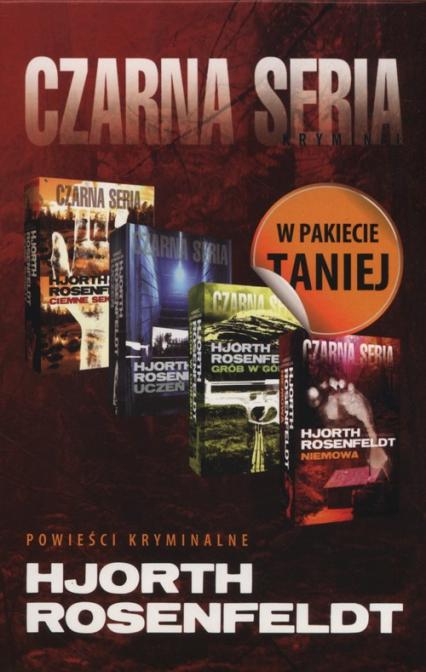 Ciemne sekrety+ Uczeń+ Grób w górach+ Niemowa- Pakiet - Rosenfeldt Hans, Hjorth Michael | okładka