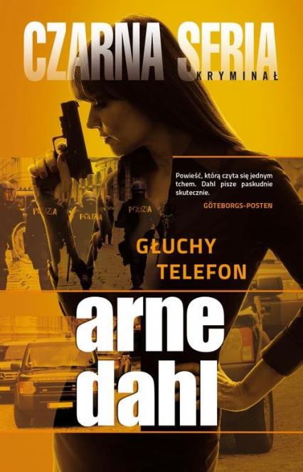 Głuchy telefon - Arne Dahl | okładka