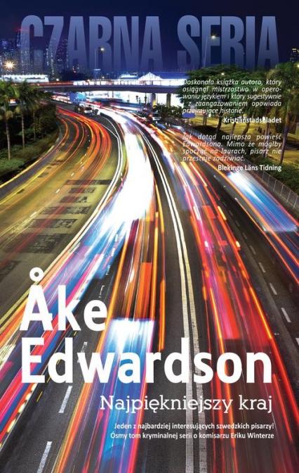 Najpiękniejszy kraj - Ake Edwardson | okładka