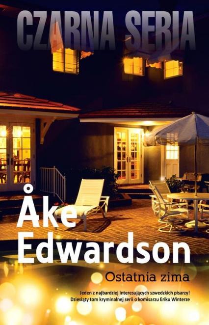 Ostatnia zima - Ake Edwardson | okładka