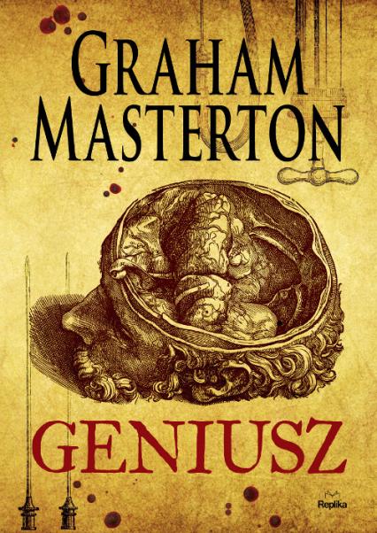 Geniusz - Graham Masterton | okładka