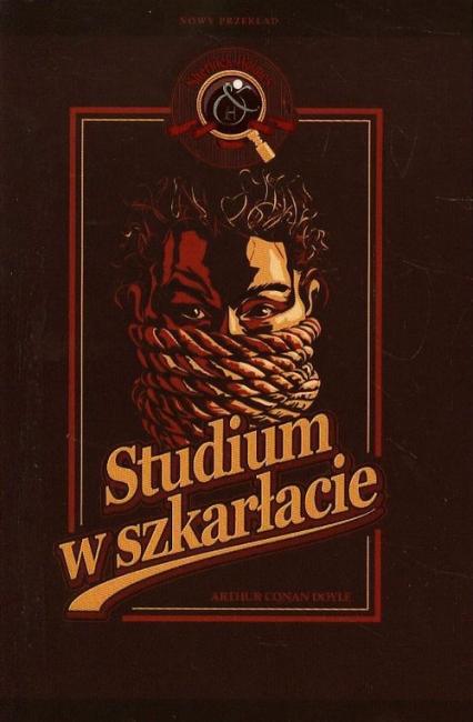Sherlock Holmes. Studium w szkarłacie - Doyle Arthur Conan | okładka
