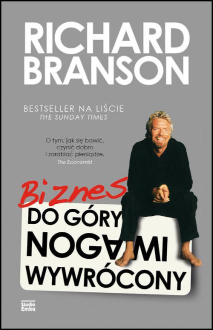Biznes do góry nogami wywrócony - Richard Branson | okładka
