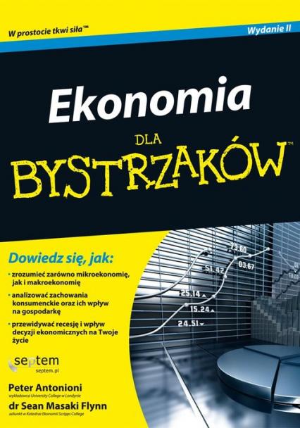 Ekonomia dla bystrzaków - Peter Antonioni, Sean Masaki Flynn | okładka