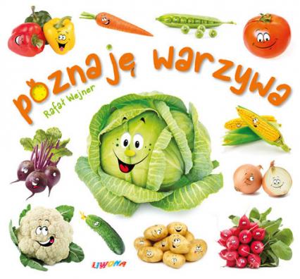 Poznaję warzywa - Rafał Wejner | okładka