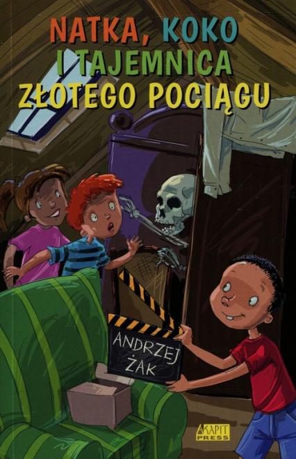 Natka Koko i tajemnica złotego pociągu - Andrzej Żak | okładka