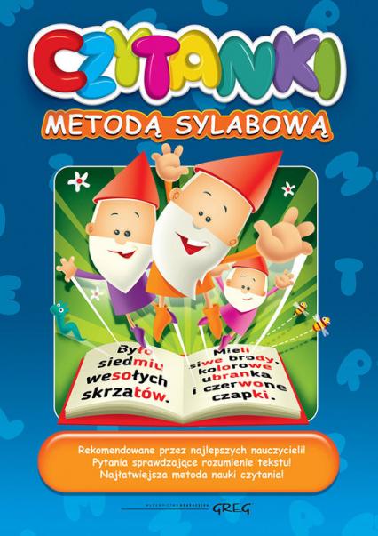 Czytanki metodą sylabową - Andersen Hans Christian, Grimm Jakub i Wilhel | okładka