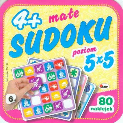 Małe sudoku 6- poziom 5 x 5 -    okładka