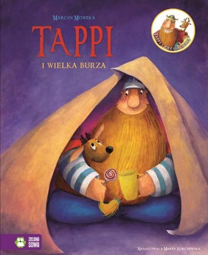 Tappi i przyjaciele. Część 5. Tappi i wielka burza - Marcin Mortka   okładka
