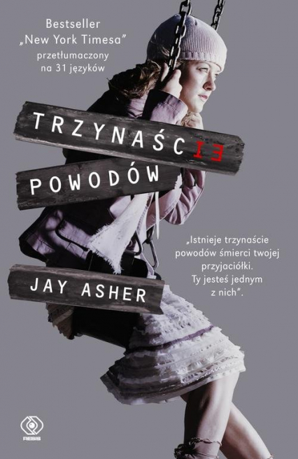 Trzynaście powodów - Jay Asher | okładka