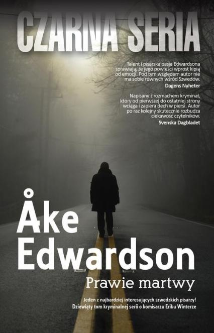 Prawie martwy - Ake Edwardson | okładka
