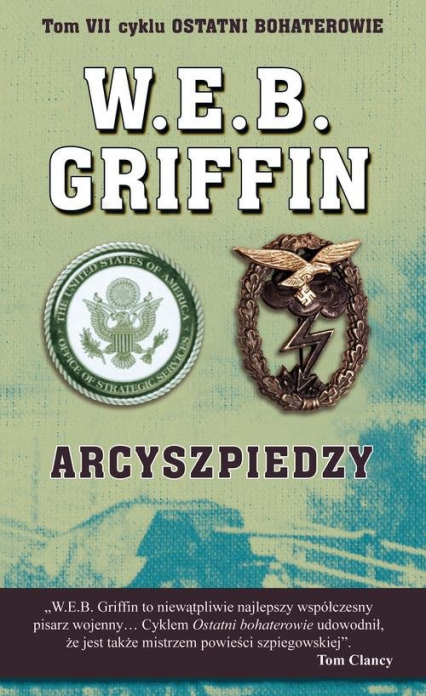 Arcyszpiedzy - Griffin W.E.B., Butterworth William E. | okładka