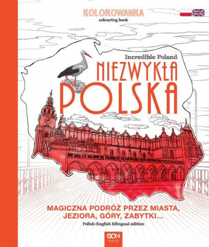 Niezwykła Polska. Kolorowanka - zbiorowe opracowanie | okładka