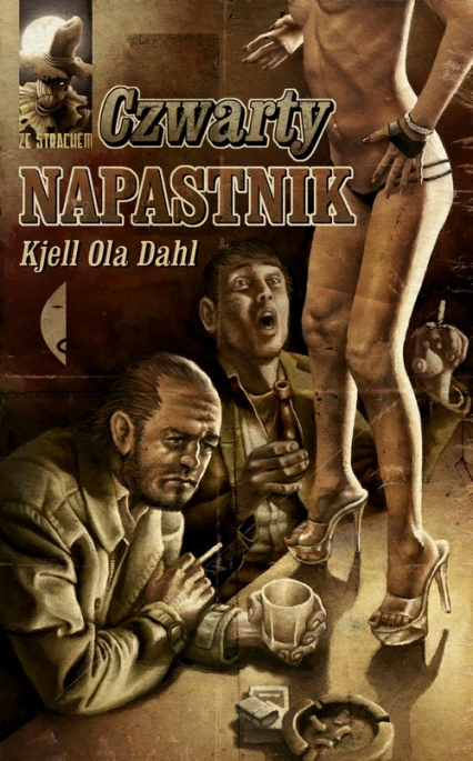 Czwarty napastnik - Kjell Ola Dahl | okładka