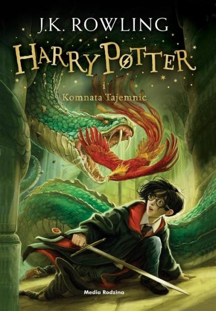 Harry Potter i Komnata Tajemnic - Joanne K. Rowling  | okładka
