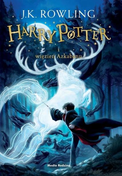 Harry Potter i więzień Azkabanu - Joanne K. Rowling  | okładka