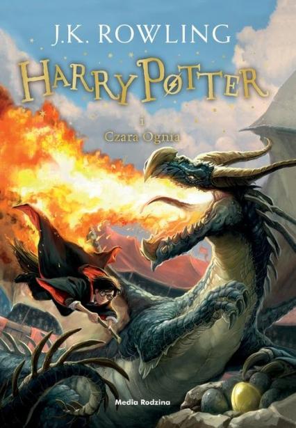 Harry Potter i czara ognia - Joanne K. Rowling  | okładka