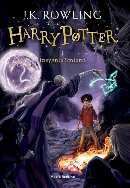 Harry Potter i Insygnia Śmierci - Joanne K. Rowling  | okładka